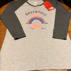 The North Face Adventure Awaits 3/4 Sleeve T-shirt